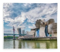 Guggenheim Museum 1 Fleece Blanket
