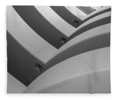Guggenheim_museum Fleece Blanket