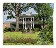 Guignard Mansion Fleece Blanket