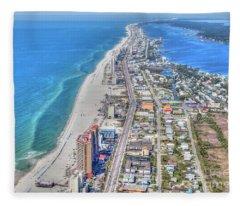 Gulf Shores 7124 Fleece Blanket