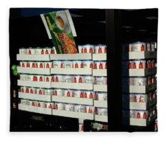 Hackensack, Nj - Tomatoes In Cans 2018 Fleece Blanket