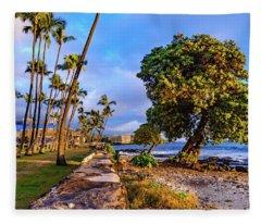 Hale Halawai Park Fleece Blanket
