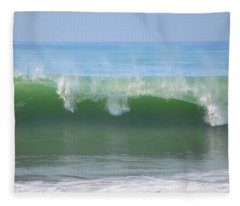Half Monn Breaker Fleece Blanket