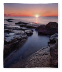 Halibut Pt. Summer Solstice Fleece Blanket