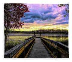 Hammond Lake Fleece Blanket