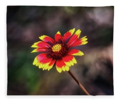 Fleece Blanket featuring the photograph Hand Painted by Rick Furmanek