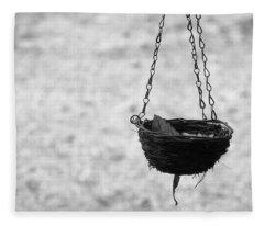 Hanging Basket Fleece Blanket