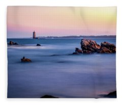 Harbor Light Fleece Blanket