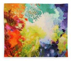 Harmonic Vibrations Fleece Blanket