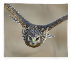Harrier Eye-to-eye Fleece Blanket