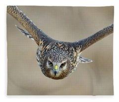 Harrier Eye-to-eye Fleece Blanket