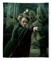 Harry Potter And The Deathly Hollows Fleece Blanket