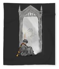 Harry Potter Mirror Fleece Blanket