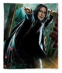 Harry Potter Severus Snape Fleece Blanket