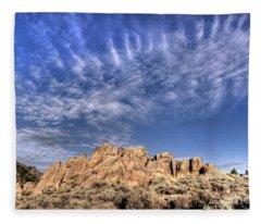 Hartman Rocks Fleece Blanket