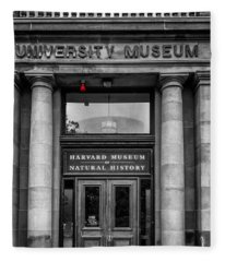 Harvard Museum Of Natural History Fleece Blanket