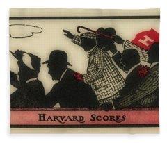 Harvard Scores, Circa 1910 Fleece Blanket