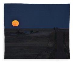 Harvest Moon 2 Fleece Blanket