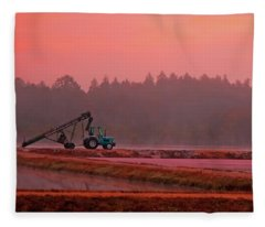Harvest Morning Sq Fleece Blanket