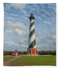 Hatteras Lighthouse Fleece Blanket