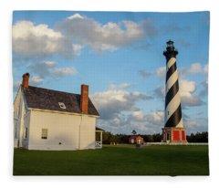 Hatteras Lighthouse No. 2 Fleece Blanket