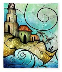 Havana Bay Fleece Blanket