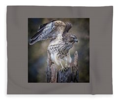 Hawk  Fleece Blanket