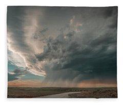 Hay Springs Ne Supercell Fleece Blanket