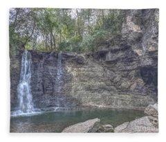 Hayden Falls Fleece Blanket