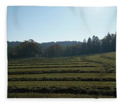 Haymaking Fleece Blanket