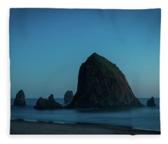 Haystack And Needles Fleece Blanket