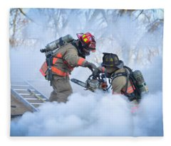 Hazardous Duty Fleece Blanket