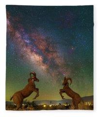 Head To Head With The Galaxy Fleece Blanket