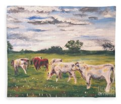 Headed Home Fleece Blanket
