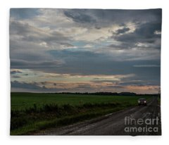 Heading Home Fleece Blanket
