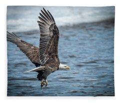 Heading Off To Eat Fleece Blanket