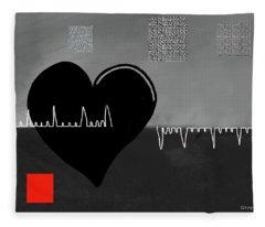 Heartbroken Fleece Blanket