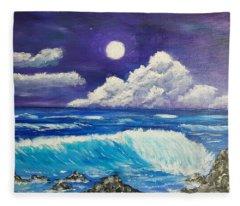 Heaven Meets Earth Fleece Blanket