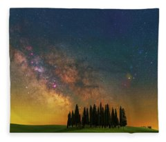 Heaven On Earth Fleece Blanket