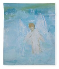 Heavenly Angel Child Fleece Blanket