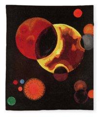 Heavy Circles Fleece Blanket
