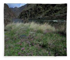 Hells Canyon National Recreation Area Fleece Blanket
