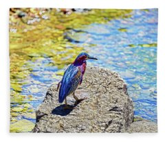 Heron Bluff Fleece Blanket