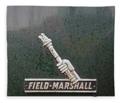Heskin Vintage Rally.  Field Marshall Logo. Fleece Blanket