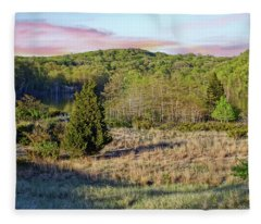 Hidden View Fleece Blanket