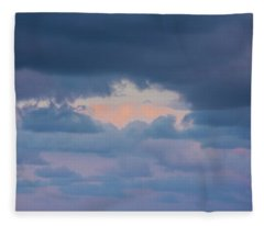 High Above The Clouds Fleece Blanket