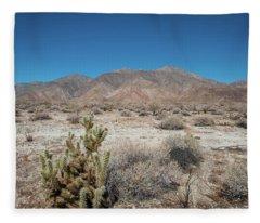 High Desert Cactus Fleece Blanket