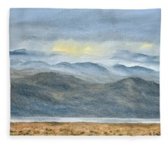 High Desert Morning Fleece Blanket