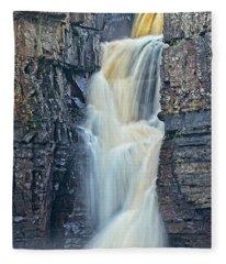 High Force Waterfall Fleece Blanket