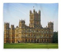 Highclere Castle Fleece Blanket